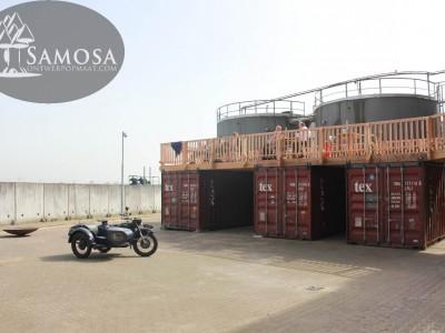 Containerterras Meesterproef open voor gasten