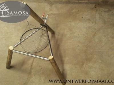 Het eerste prototype van de Samosa Braai