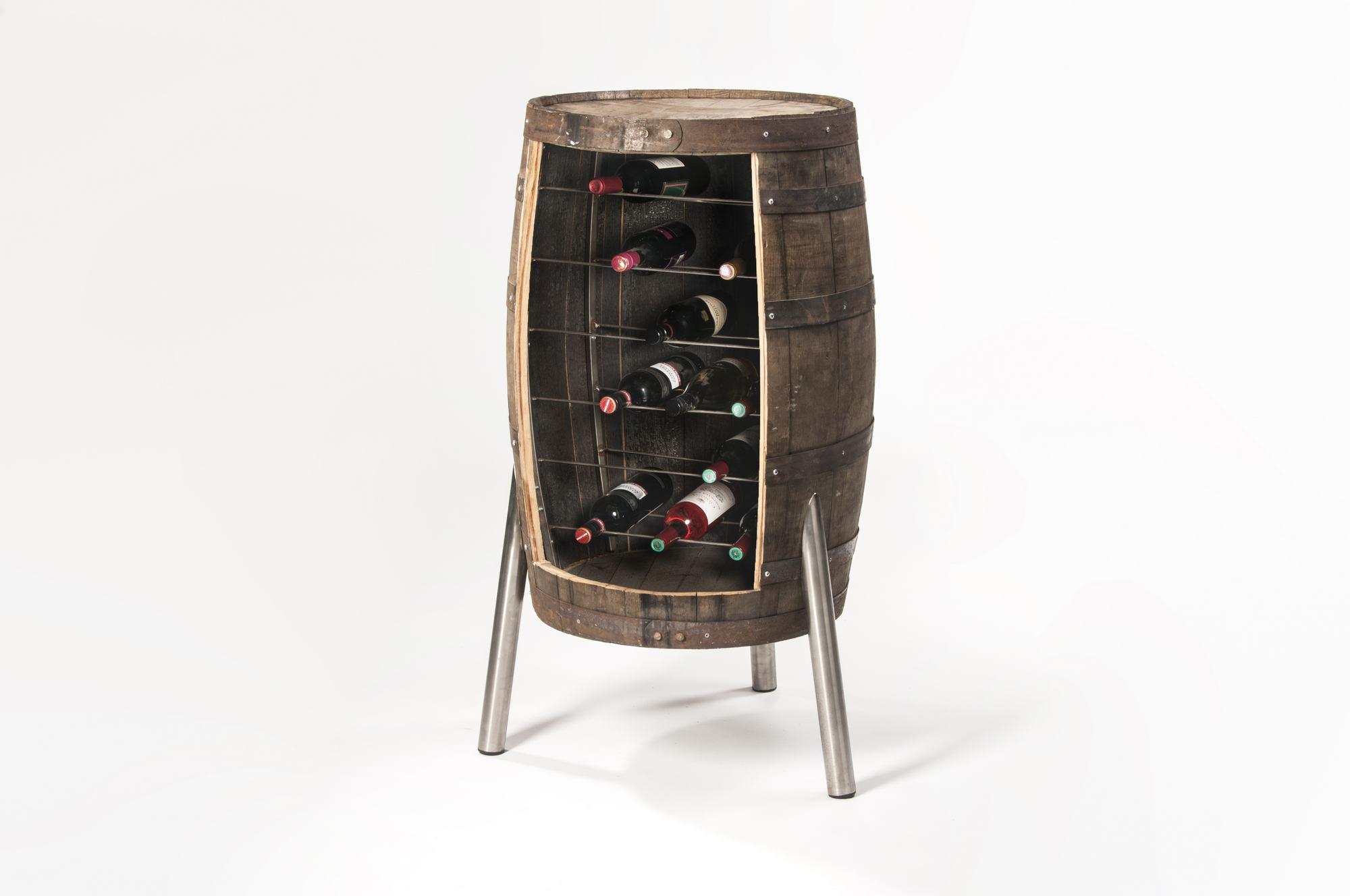 Nieuw Samosa – Ontwerp op Maat Whiskeyvat / wijnvat wijnrek - Samosa OY-91