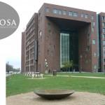 Vuurschaal op Wageningen universiteit