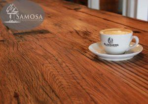 blommers koffie coffee first things first eiken werkblad honig fabriek