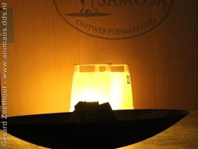 Opening van Samosa showroom in de Honig