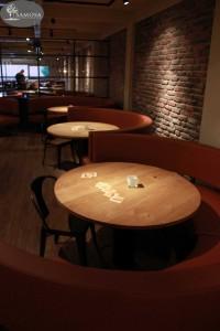 Ronde tafels bowlingcentrum Veenendaal