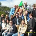 Groepsfoto op Samosa Tafel
