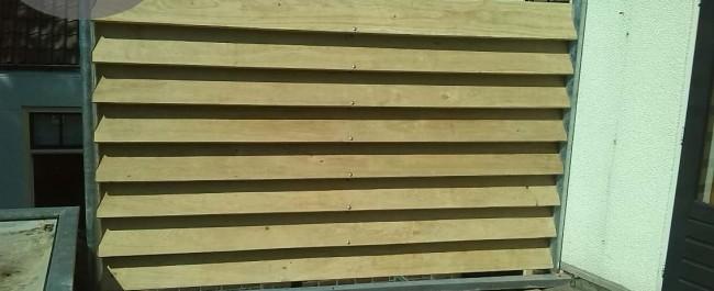 Privacy op een stijlvolle manier door een eiken windscherm 4