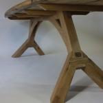houten onderstel voor tafel