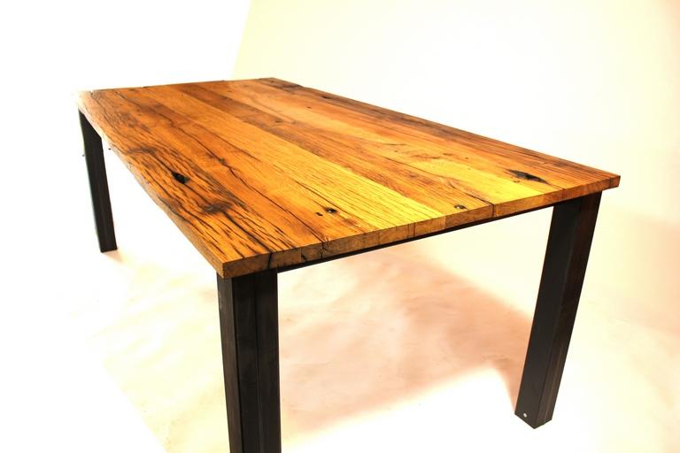 Samosa u ontwerp op maat oud eiken tafel