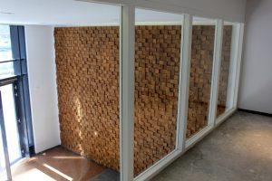 houten geluids isolatie