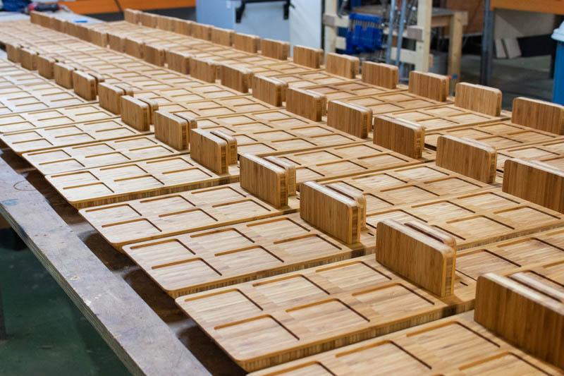 bamboe houten planken massaproductie