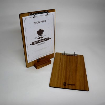klembord menukaart
